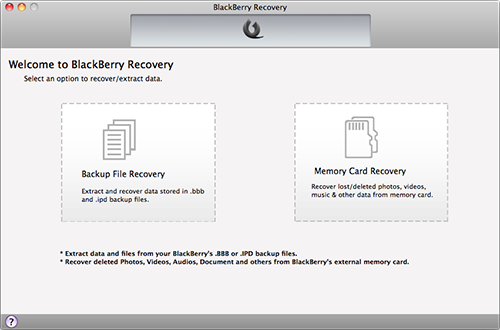 Two Recovery Modes