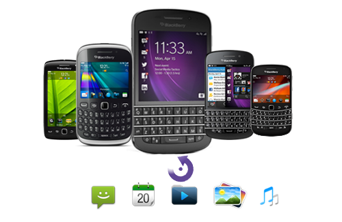 Supported BlackBerry Smartphones