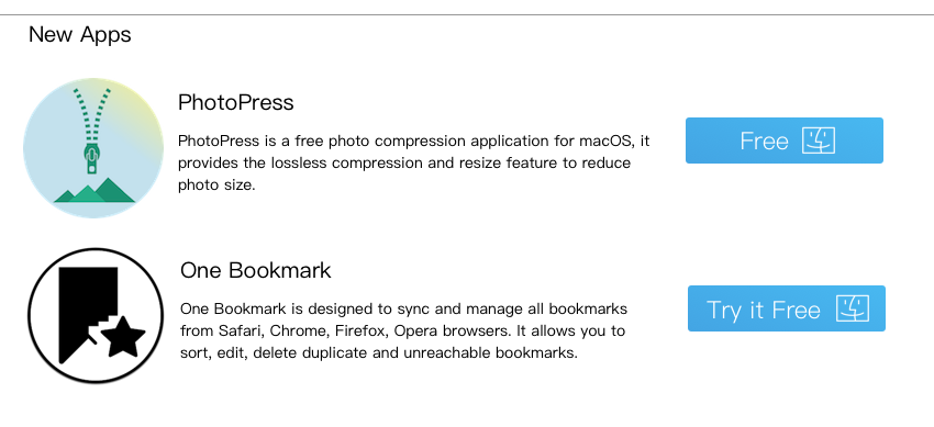 fireebok mac new apps