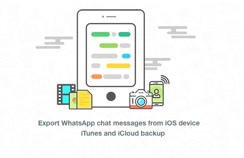 Extract WhatsApp Chats from iPhone to Computer