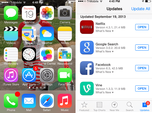 Update your app to the latest version