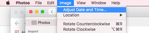 adjust date and time of photo in photos