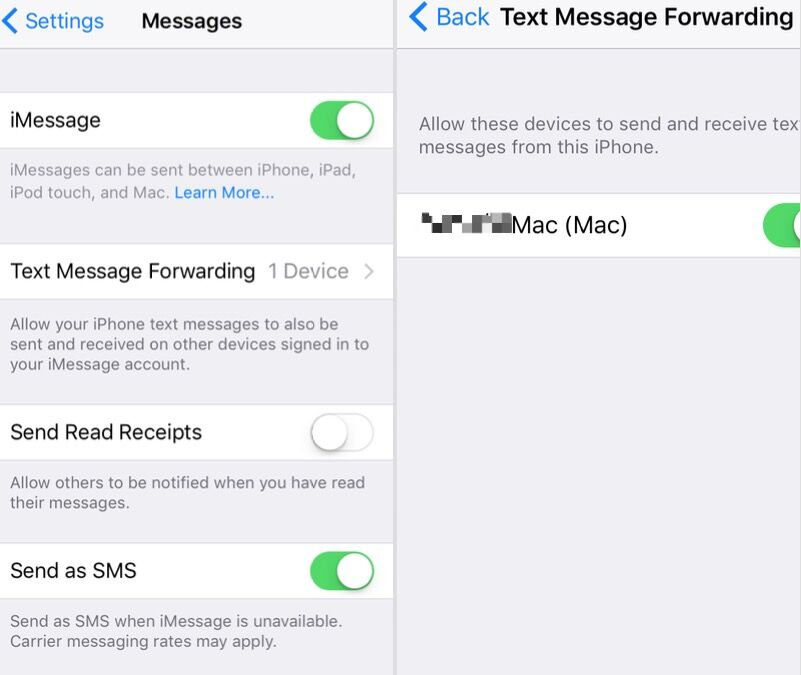 How to get Text Message and iMessages to sync across an iPhone ...