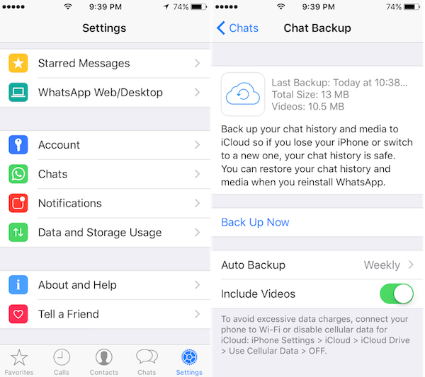 how to download whatsapp backup from icloud to iphone