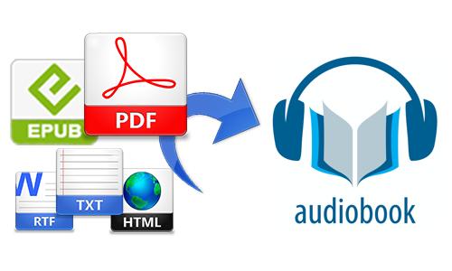 turn pdf into audiobook