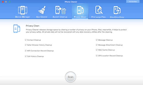 Keep Your iDevice Clean with iPhone Cleaner – Fireebok
