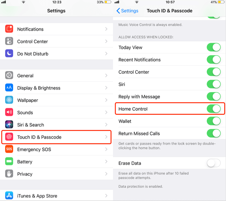 How to get music to play when iphone is locked