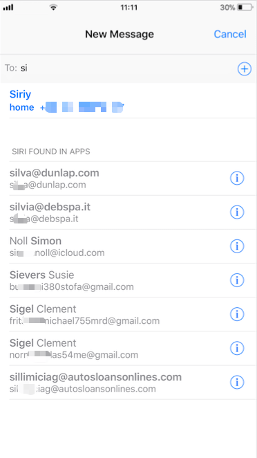How to remove the useless contact groups from iPhone Messages