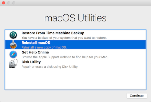 How to fix when macOS mojave can't install?