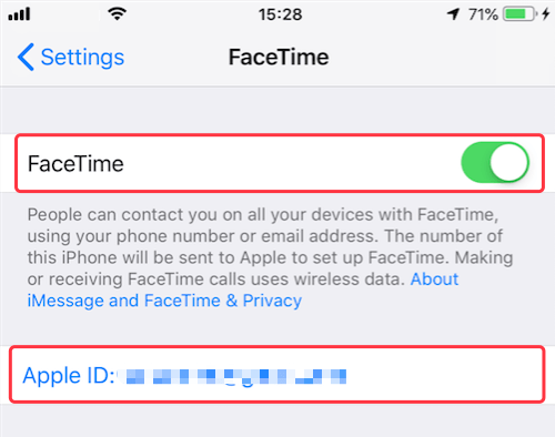 Resolved] How to fix when FaceTime icon greyed out in