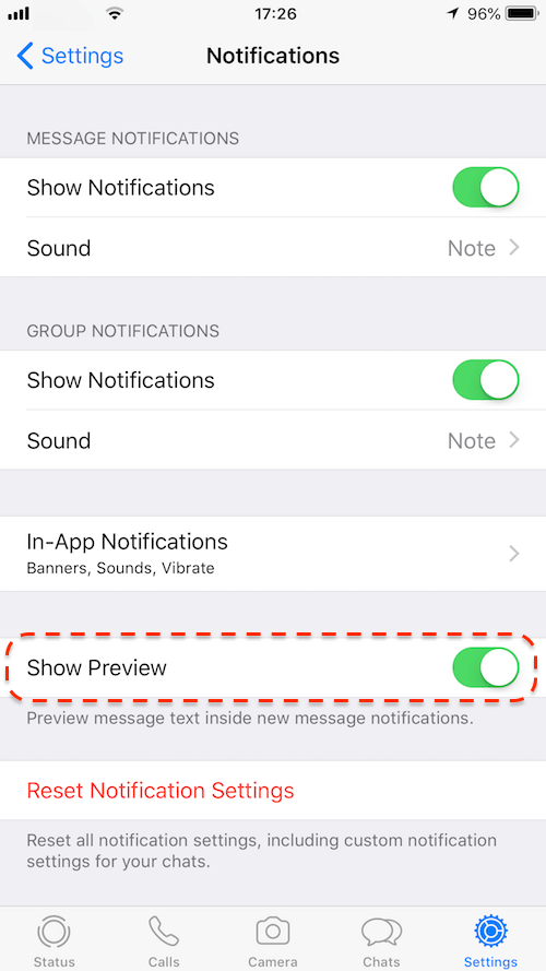 Three ways to hide WhatsApp sender name from iPhone notification